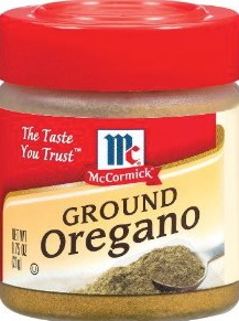McCormick Recalls Oregano!
