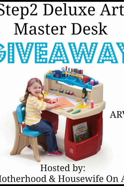 Step2 Deluxe Art Master Desk Giveaway 10/29 US