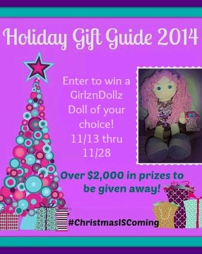 GirlznDollz Soft Cuddly Doll Giveaway!