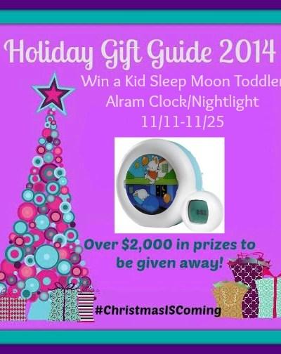 Kid Moon Sleep Alarm Clock/Nightlight Giveaway 11/25