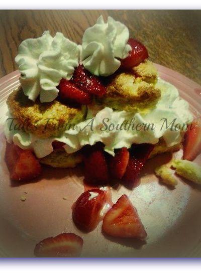 Scrumptious Strawberry Shortcake