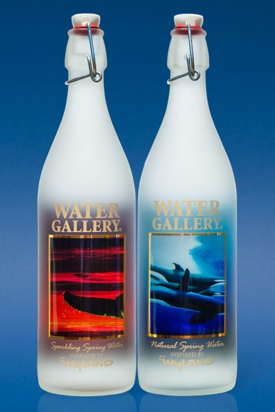 Beautiful Water Bottles for drinking and displaying