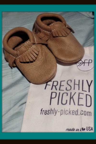 100% Leather U.S.A. Made Freshly Picked Moccasins