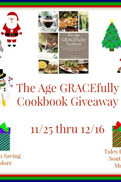 Age GRACEfully Cookbook Giveaway! 12/16