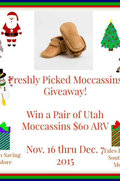 Freshly Picked Moccasins Giveaway! 12/7