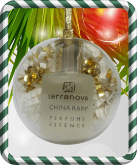 Holiday Ornaments with Perfume