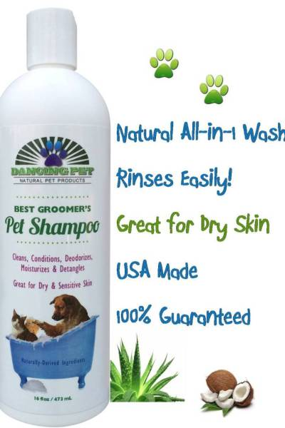Dancing Pet Shampoo, Dogs so clean they want to dance!