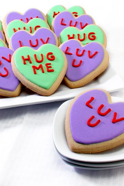 CONVERSATION HEARTS COOKIE GIFT BOX