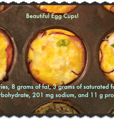 Egg Cups- The Easiest Single Serve Omelettes You'll Ever Make