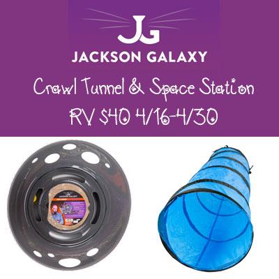 Jackson Galaxy Crawl Tunnel Giveaway 4/30