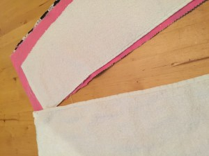 Easy to Sew (I Promise) Burp Cloths for Baby