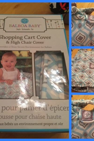 Do you use a shopping cart cover with your baby?