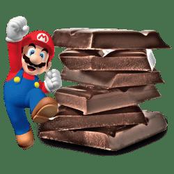 Super Mario Bros. Enters Yogurtland!