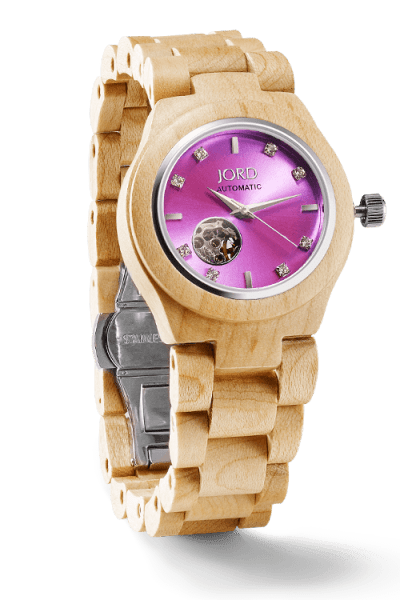 JORD bring the Best in Fall Fashion with Wood Watches!
