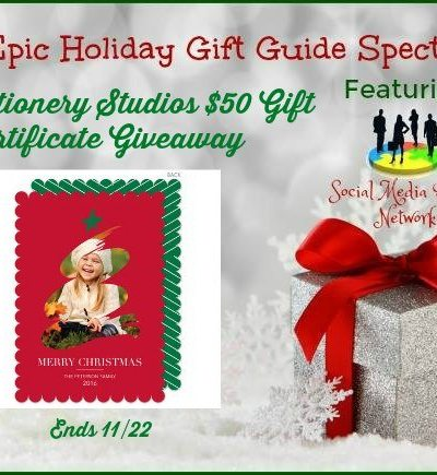 The Stationery Studios $50 Gift Certificate Giveaway Ends 11/22