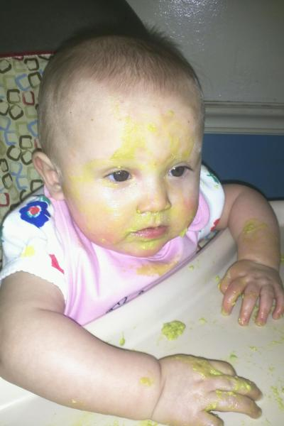 Dreft can handle even the Messiest Baby!