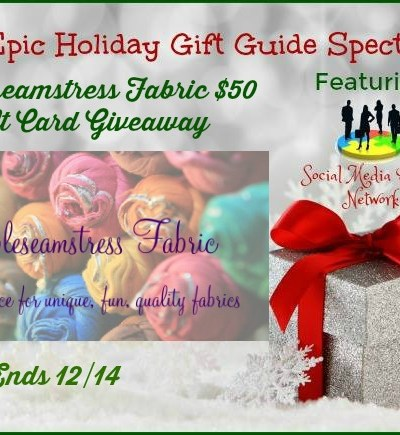 PurpleSeamstress Fabric $50 Gift Card Giveaway!