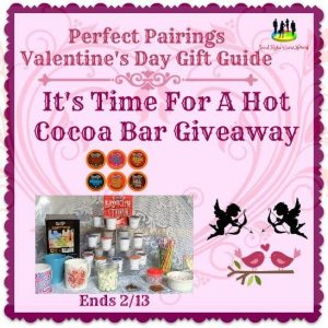 It's Time For A Hot Cocoa Bar Giveaway Ends 2/13