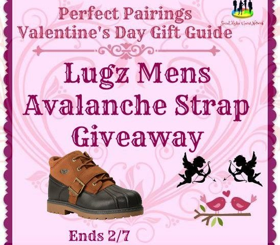 Lugz Mens Avalanche Strap Giveaway Ends 2/7