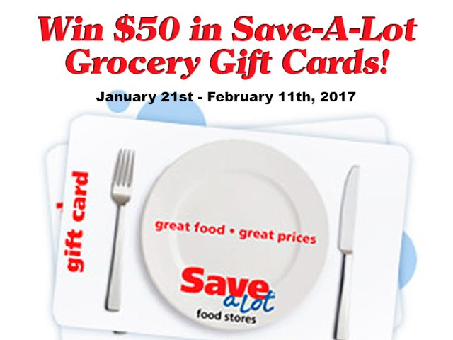 Save-A-Lot $50 Game Day Giveaway