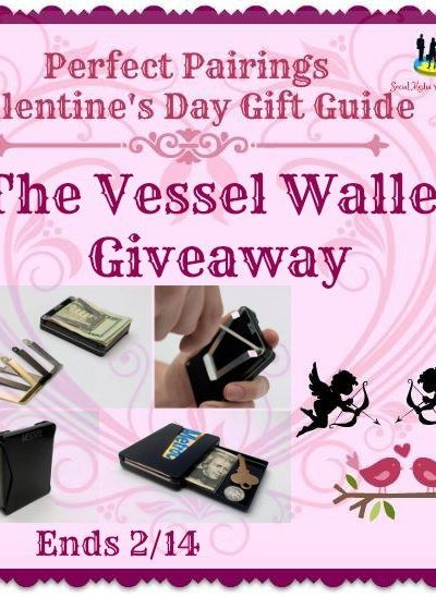 The Vessel Wallet Giveaway Ends 2/14