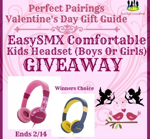 EasySMX Comfortable Kids Headset Giveaway (Winners Choice Boy or Girl) ~ Ends 2/14