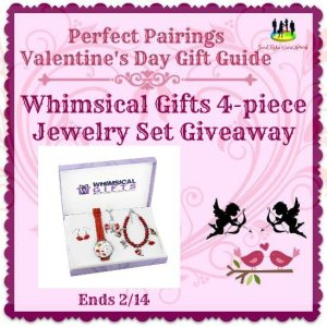 Whimsical Gifts 4-piece Jewelry Set Giveaway Ends 2/14