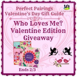 Who Loves Me? Valentine Edition Giveaway Ends 2/3