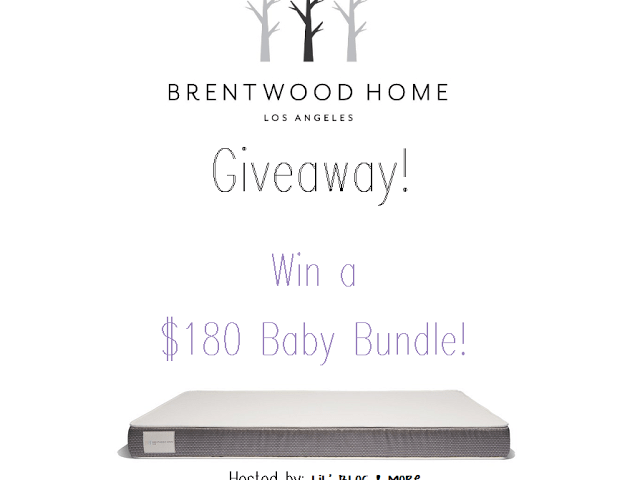 Brentwood Home Baby Bundle Giveaway!