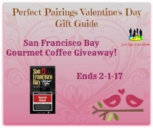 San Francisco Bay Gourmet Coffee Giveaway!