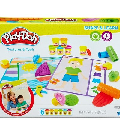 Play-Doh Shape & Learn for Fun and Learning
