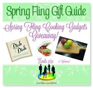 Spring Fling Cooking Gadgets Giveaway ~ 3 Winners ~ Ends 3/31