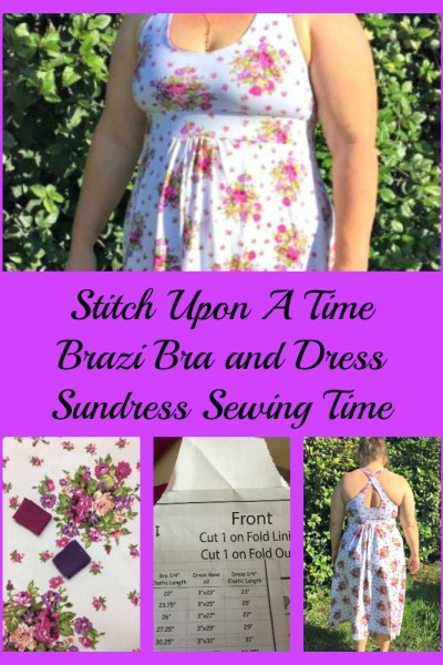Warm Weather calls for New Sundress Sewing!