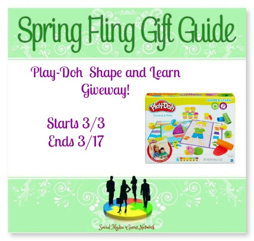 The Spring Fling Play-Doh Shape & Learn Giveaway