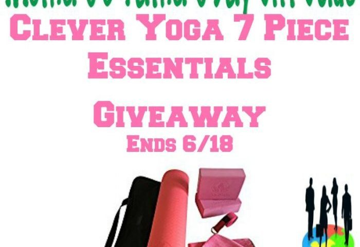 Clever Yoga 7 Piece Giveaway!