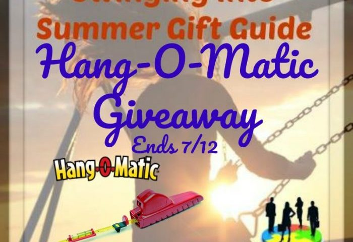 Hang-O-Matic Giveaway Ends 7/12 2 Winners
