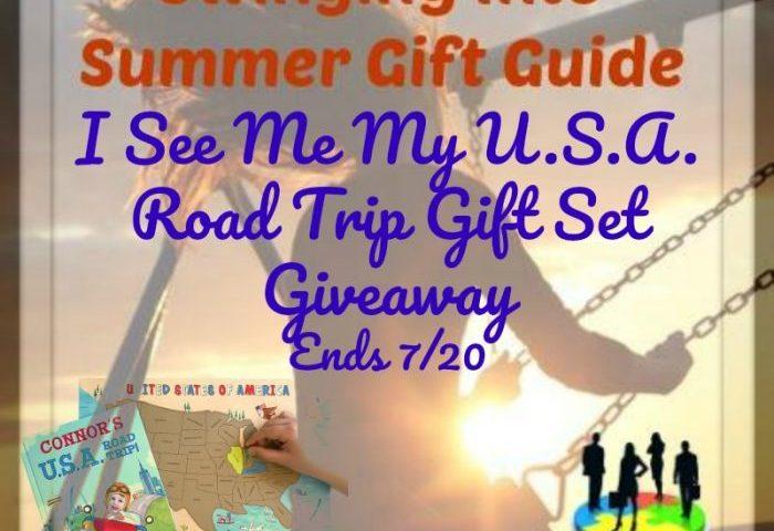 I See Me My U.S.A. Road Trip Gift Set Giveaway Ends 7/20
