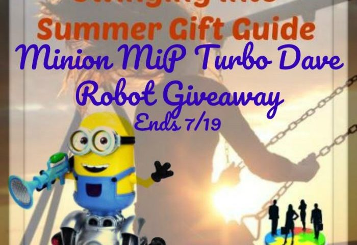 Minion MiP Turbo Dave Robot Giveaway Ends 7/19