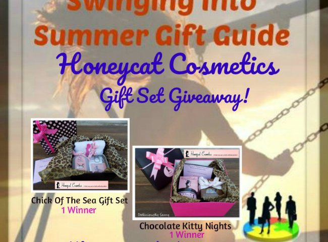 Honeycat Cosmetics Gift Set Giveaway (2 Winners!) ~ @honeycattweets @SMGurusNetwork