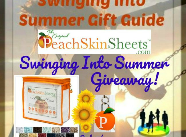 PeachSkinSheets Swinging Into Summer Giveaway! Winners Choice of Size and Color! @PeachSkinSheets @SMGurusNetwork