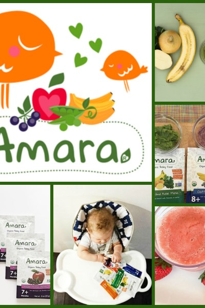 Less Processed Organic Baby Food by Amara