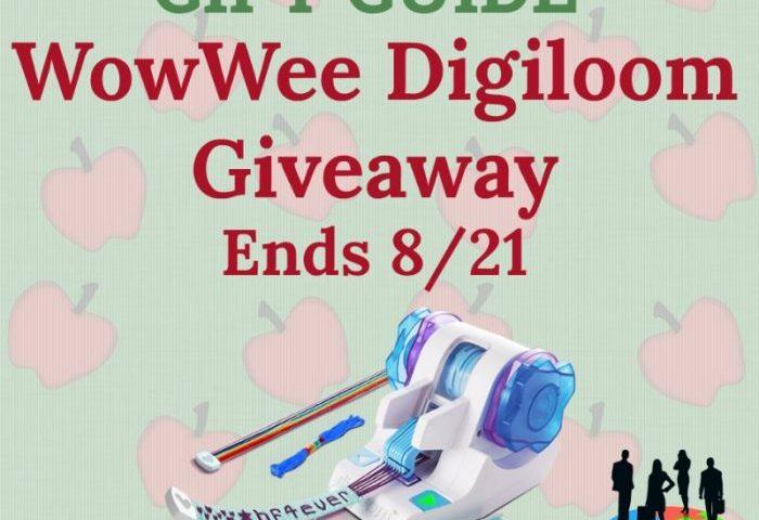 WowWee Digiloom Giveaway Ends 8/21