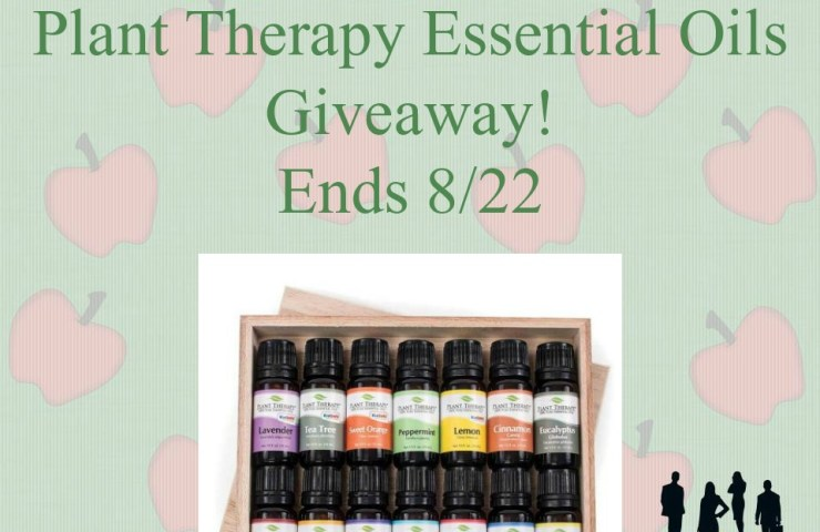 Plant Therapy  Essential Oils Giveaway!