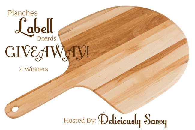 Planches Labell Boards Giveaway (2 Winners!) Ends 10/15