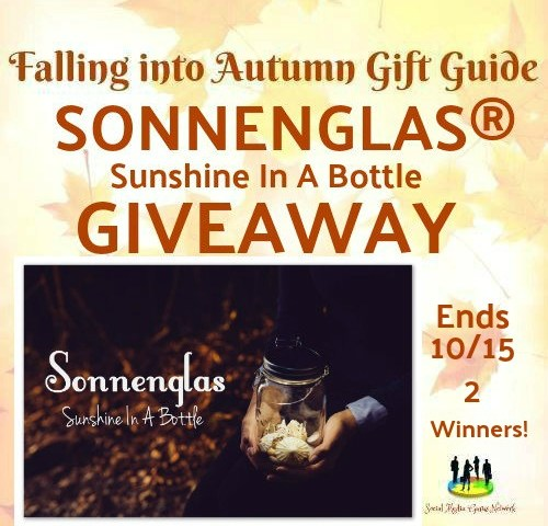 SONNENGLAS® ~ Sunshine In A Bottle Giveaway
