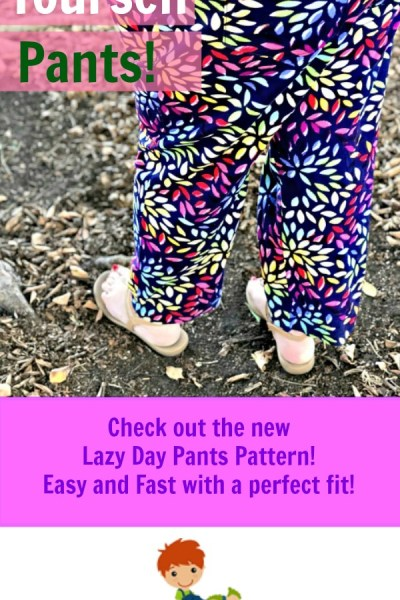I Can Sew Pants and So Can You!