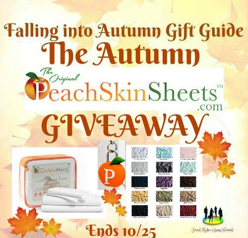 The Autumn PeachSkinSheets Giveaway (Winner Chooses Size and Color