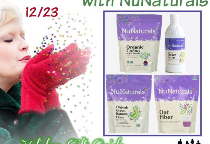 Holiday Baking with NuNaturals Holiday Gift Guide Giveaway