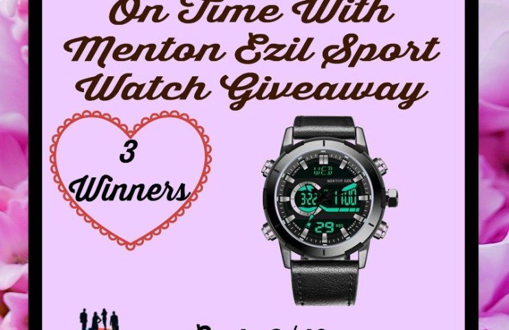 Keep Your Man On Time With Menton Ezil Sport Watch Giveaway Ends 2/10