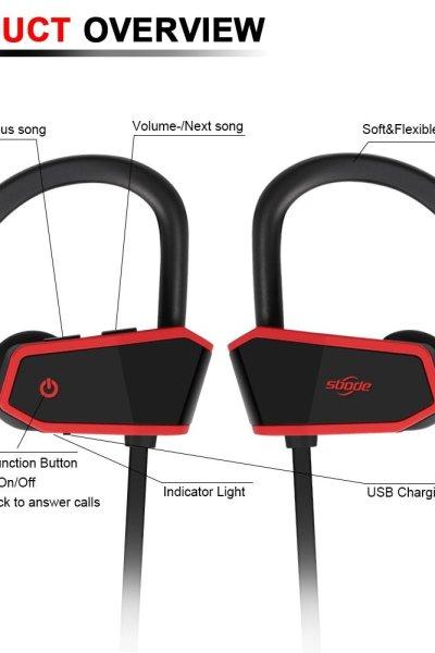 No More Tangled CordsSbode Bluetooth Headphones